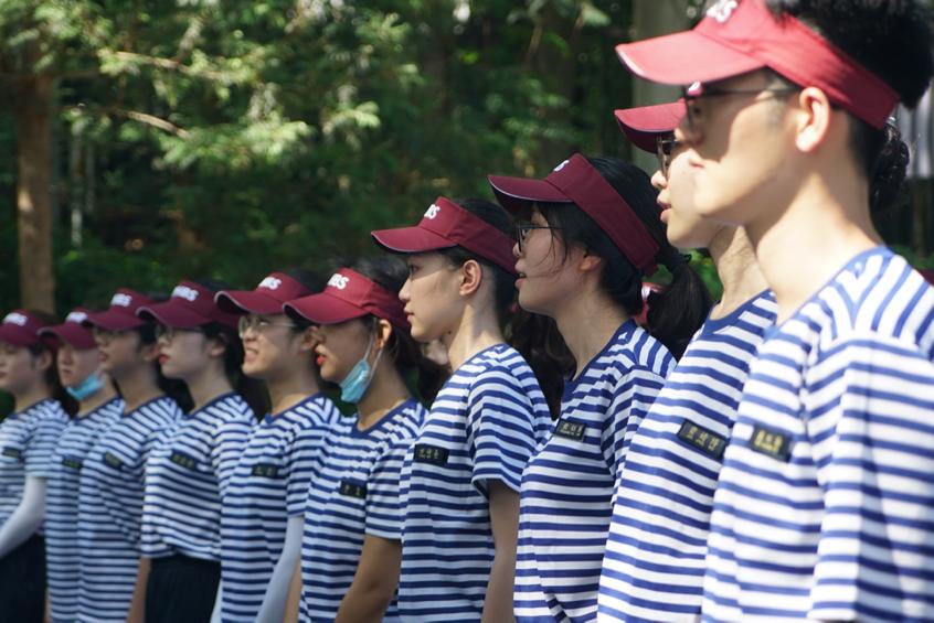 同舟共济,天下英才出吾辈 —— 2020级新生国防教育营正式开营