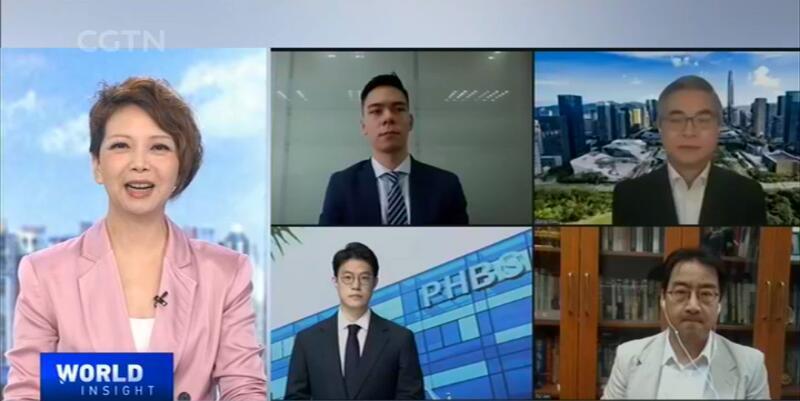 【中国万国电视台】纪念深圳特区成立40周年---About中国改革开放以来的思考
