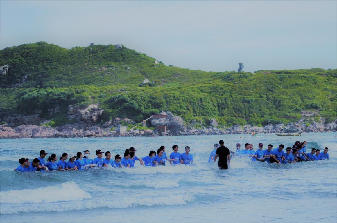 乘风破浪,千里浩然气 —— 北大汇丰2020级新生海训全纪实