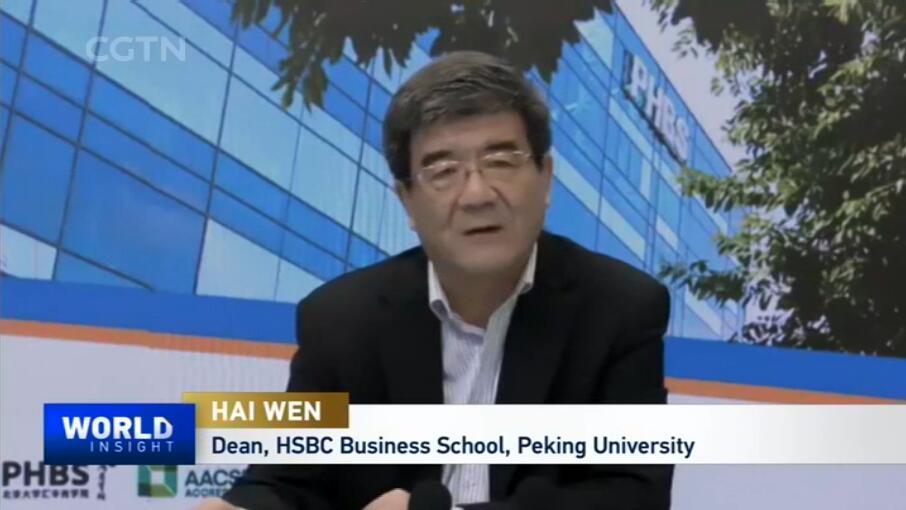 【中国国际电视台】海闻:人力资本的开放是深圳未来发展的关键