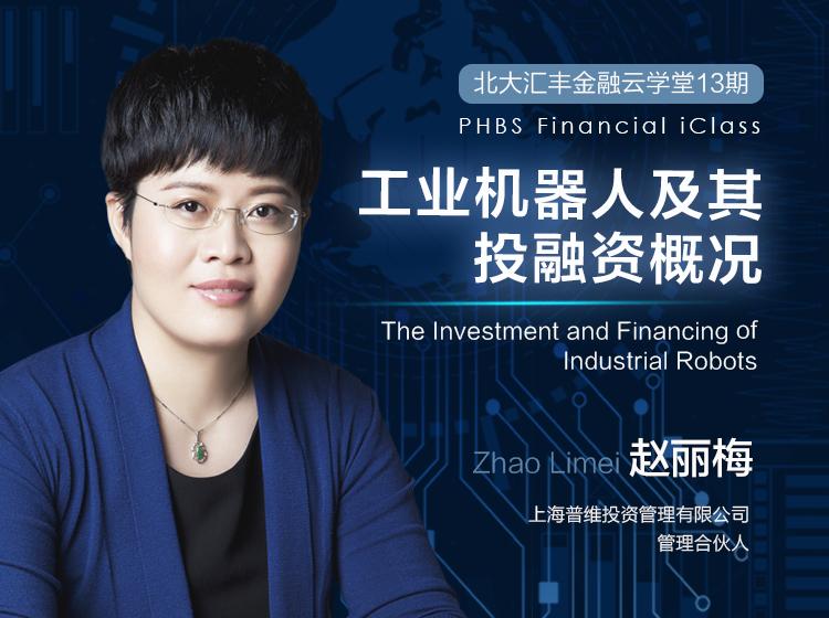 赵丽梅:工业机器人及其投融资概况